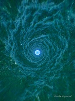 Into the Blue Whirl by Cloudwhisperer67