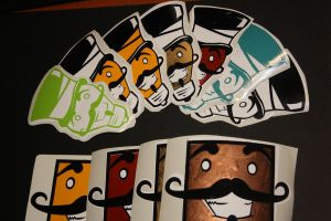 First Stickers done... by Koi-top