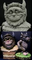 Wild Thing Maquette 2 by DonLanning