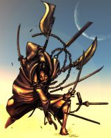 The Ace of Swords by Z-control
