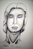 Portrait of a Head by vincent-is-mine