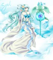CRlazier: Fairy of Cloud by Hika-Vns