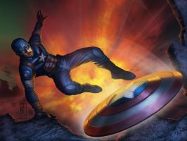 Captain America : The Super Soldier by Reverve-Creatives
