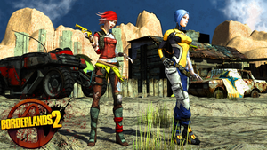 Lilith and Maya - Borderlands 2 by James--C
