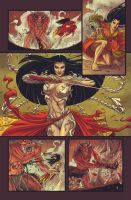 Witchblade: Oni Sample Page 05 by TheThirdG