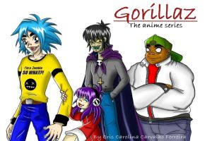Gorillaz at my style COMPLETE by GND-KicaCris