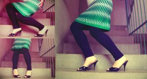 stairs to the 50s by pellegrina