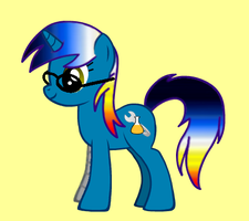 OC Pony: Bright Azure by Ciroton