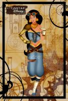 Steampunk Jasmine by HelleeTitch