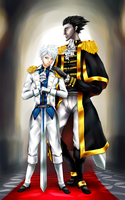 BlackIce: Royal Couple by neir-2-you