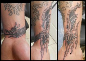 Tattoo - M11 - Celtic Dragon by BooBelle