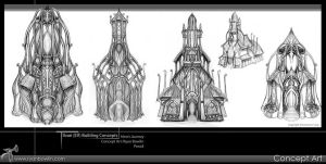 Ilvari Structure Concepts by RynoZebz