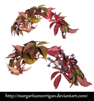 autumn wreath by Margaritamorrigan by Margaritamorrigan