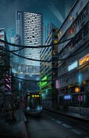 Downtown by DigitalCutti