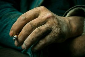 Hand of a maker by tomislav-moze