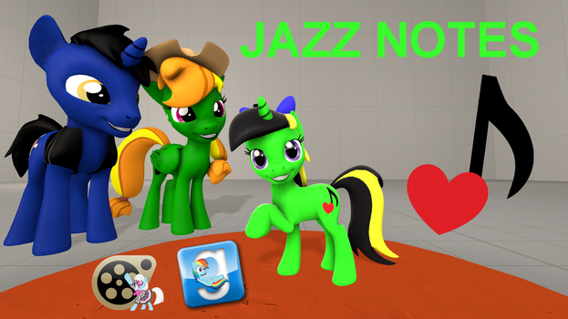 (DL) Jazz Notes by Out-Buck-Pony