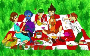 AMIP KIDS: pic nic by QueenSolaris