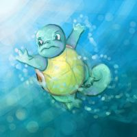 Squirtle by Bagada