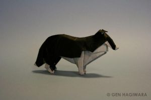 Origami Collie by GEN-H