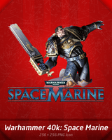 Warhammer 40k: Space Marine by A-Gr
