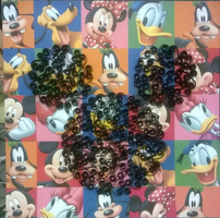 Quilling Mickey Mouse Silhouette by Jenni1361