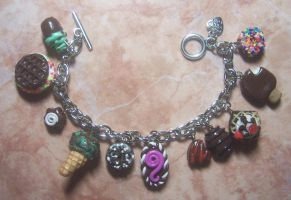 more yummy and cutie bracelets, i love chocolates by jong28