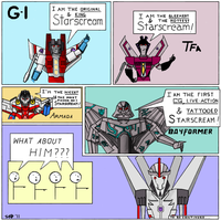 Starscreams abound by loaves
