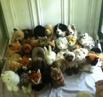 All of my Signature Webkinz as of July 31, 2014 by WebkinzWarrior