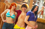 A and G Ohio Cosplay Photoshoots! One Piece by Swoz