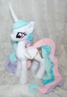 Casual Princess Celestia by Yukamina-Plushies