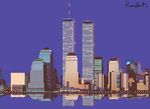 Memoirs of the World Trade Center by The-Transport-Guild