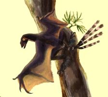 Bat wings dinosaur by Guindagear