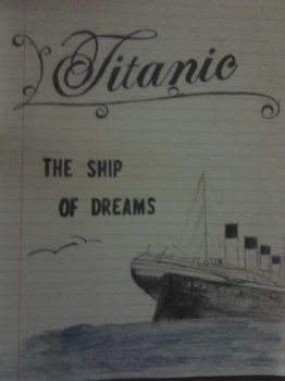 Titanic Title Page by MercyHearts
