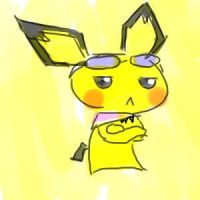 pichu is not pleased by c0baltjuce