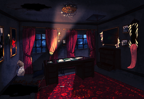 SPG haunted room by Hennei