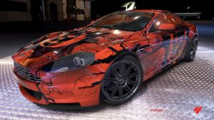 Infected Omen Aston Martin DBS by Crystal-Eclair