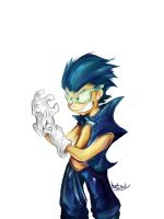 Human Sonic by amorias