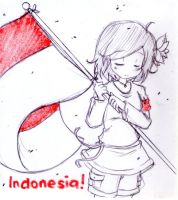 Hetalia OC Indonesia by Fantashii