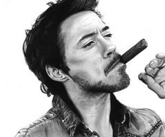 Robert Downey Jr by cfischer83