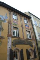 houses with wall painting by ingeline-art