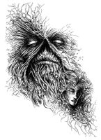 Swamp Thing and Abigail by Xenomorph71
