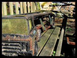 Old Toy Car by maurice