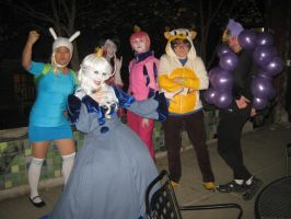 IT'S HALLOWEEN ADVENTURE TIME by sssonny