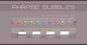 Item: Phrase Bubbles by CustomStory
