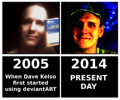 Almost 9 Years on deviantART by paradigm-shifting