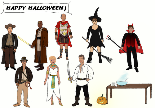Halloween-at-the-sgc by RoeskvaNat