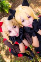 Vocaloid - Rin and Len~Kaitou Peter and Jenny ver~ by jotaPeVaz
