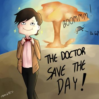 THE DOCTOR SAVE THE DAY by Aomelette
