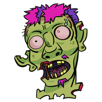 Zombie shit by nearshot