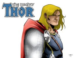 The Mighty Thor by Andre-VAZ